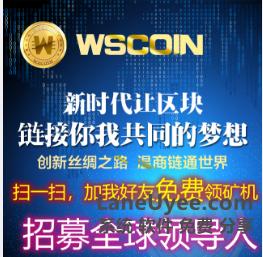 WSC 温商链  (区块链技术)升值空间巨大!